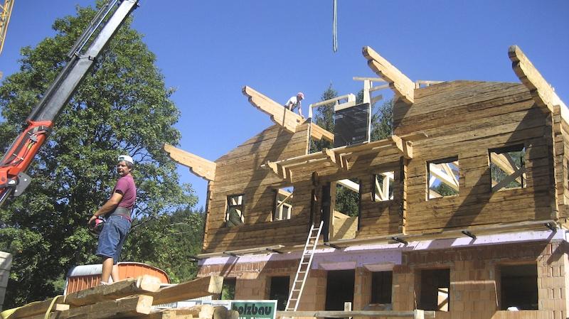 Abbruch und Wiederaufbau _Bauernhaus11